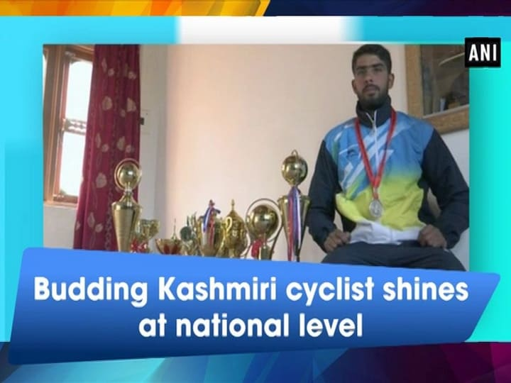 Budding Kashmiri cyclist shines at national level