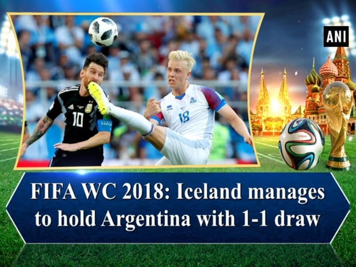 FIFA WC 2018: Iceland manages to hold Argentina with 1-1 draw