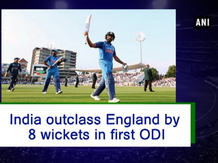 India outclass England by 8 wickets in first ODI