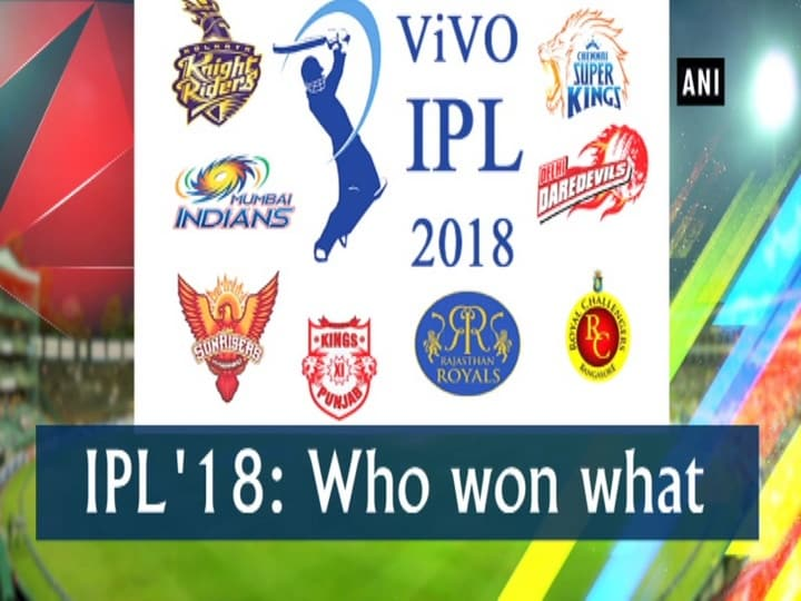 IPL '18: Who won what