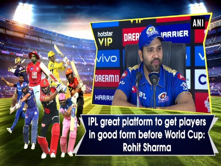 IPL great platform to get players in good form before World Cup: Rohit Sharma