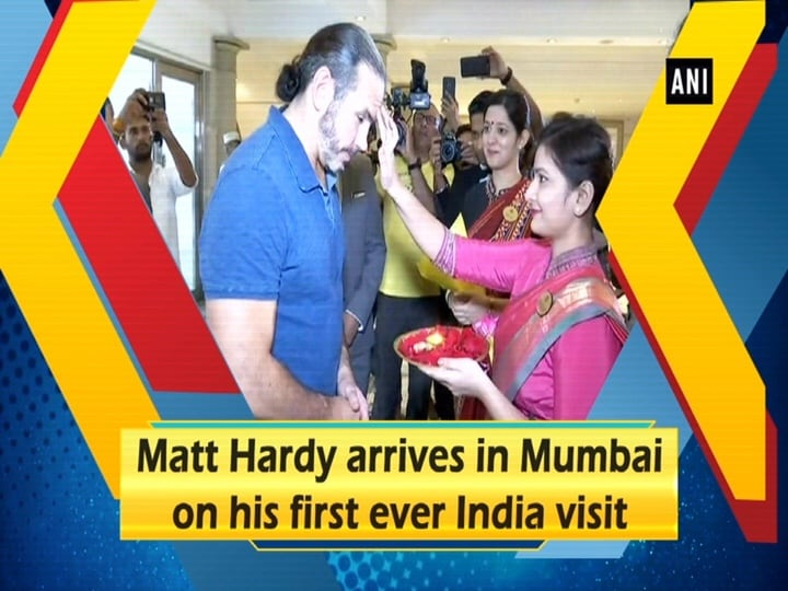 Matt Hardy arrives in Mumbai on his first ever India visit
