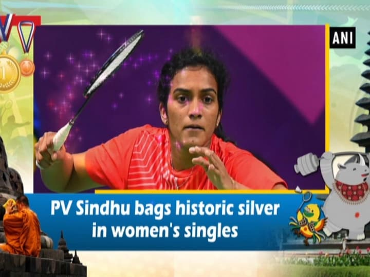 PV Sindhu bags historic silver in women's singles