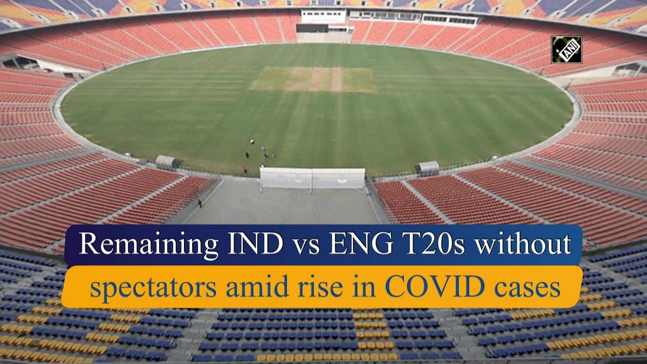 Remaining IND vs ENG T20s without spectators amid rise in COVID cases