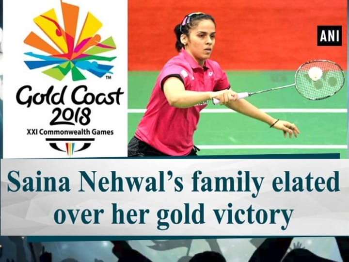 Saina Nehwal's family elated over her gold victory