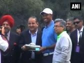 Tiger Woods makes maiden appearance at a private event in India