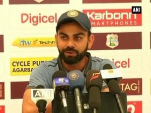 Virat Kohli hints at changes in playing eleven against WI in third test