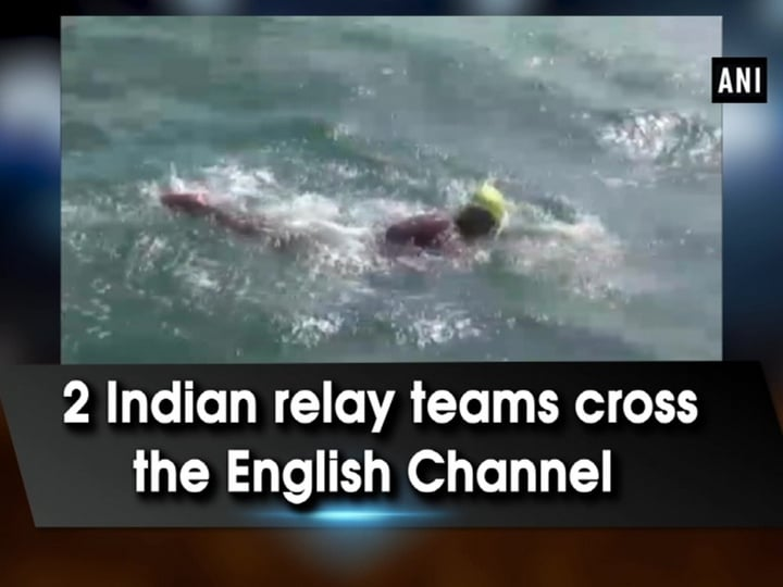 2 Indian relay teams cross the English Channel