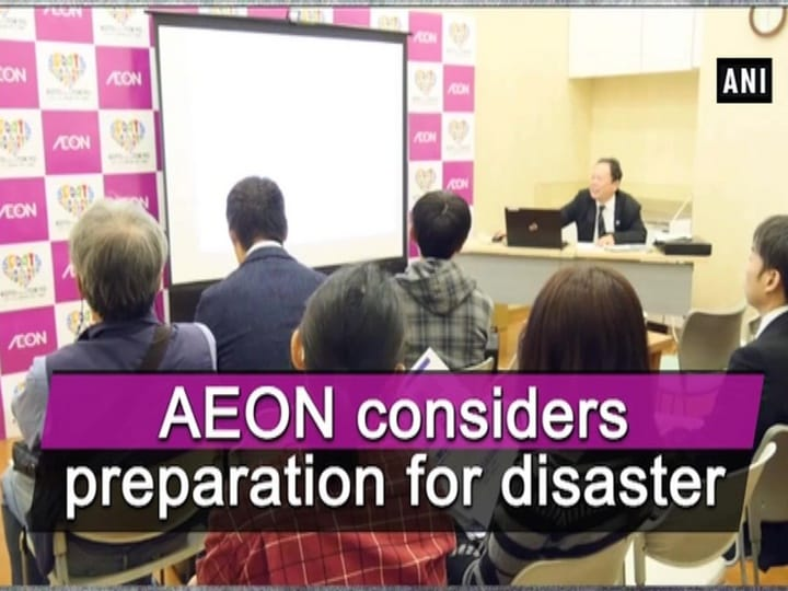 AEON considers preparation for disaster