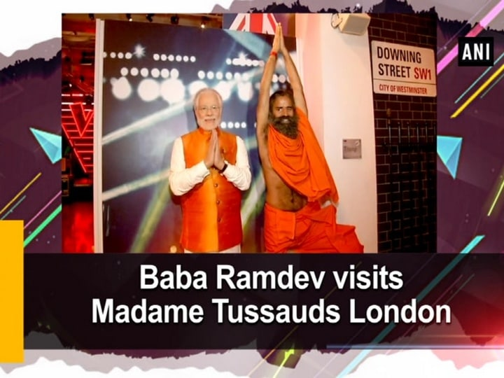 Baba Ramdev visits Madame Tussauds London