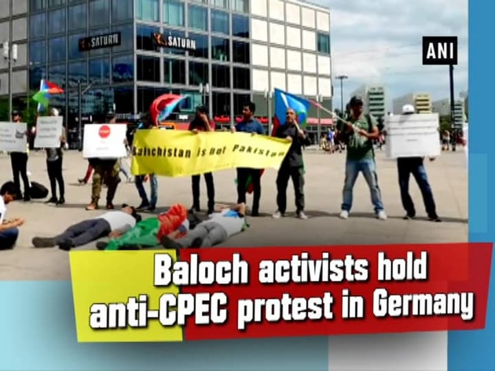 Baloch activists hold anti-CPEC protest in Germany