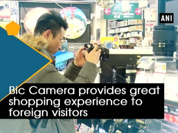Bic Camera provides great shopping experience to foreign visitors