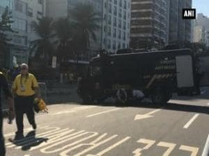 Blast at Rio Olympics: Bomb squad blows up unattended backpack, no injuries sustained