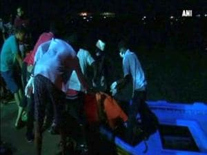 Boat packed with migrants sinks off Libya, up to 200 feared dead