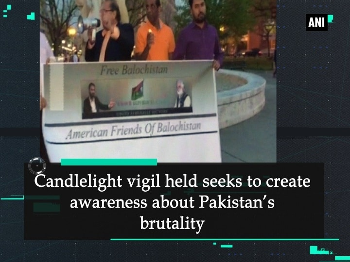 Candlelight vigil held seeks to create awareness about Pakistan's brutality