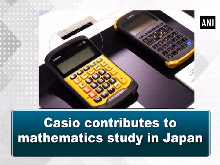 Casio contributes to mathematics study in Japan