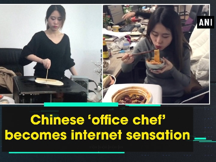 Chinese 'office chef' becomes internet sensation