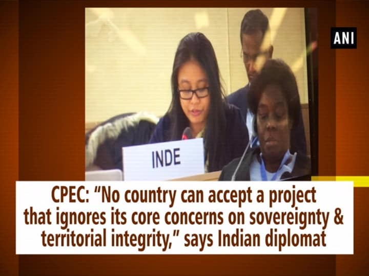 """CPEC: """"No country can accept a project that ignores its core concerns on sovereignty and territorial integrity,"""" says Indian diplomat"""