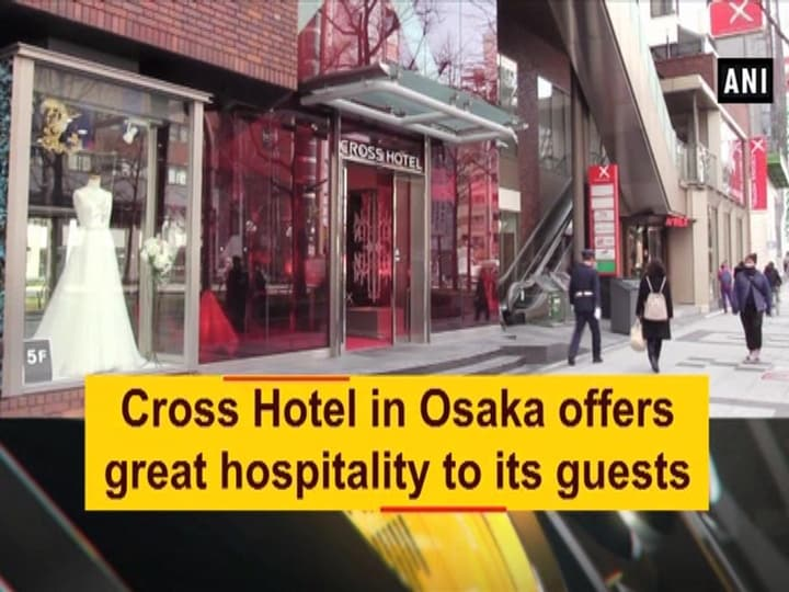 Cross Hotel in Osaka offers great hospitality to its guests