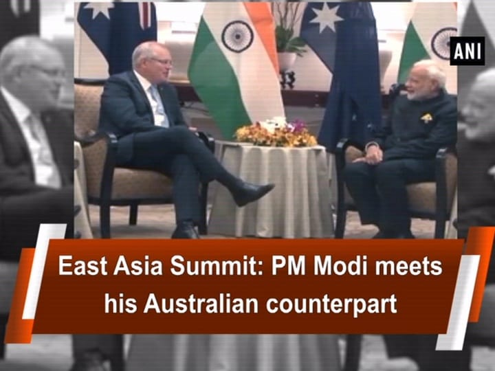East Asia Summit: PM Modi meets his Australian counterpart