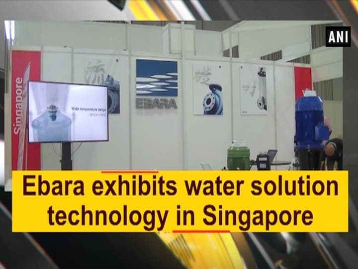 Ebara exhibits water solution technology in Singapore
