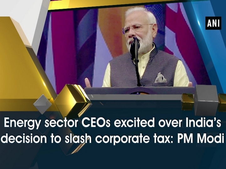 Energy sector CEOs excited over India's decision to slash corporate tax: PM Modi
