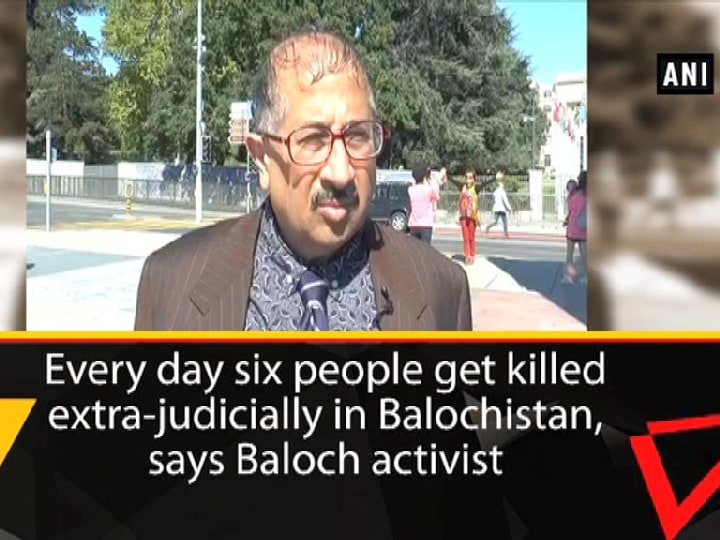 Everyday six people get killed extra judicially in Balochistan, says Baloch activist
