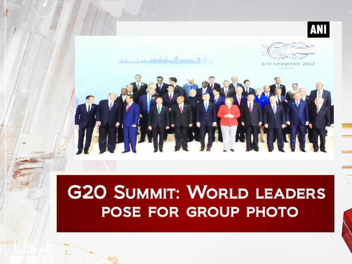 G20 Summit: World leaders pose for group photo