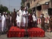 Hafiz Saeed rallies against persecution of Rohingya Muslim population