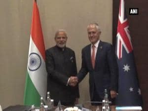 India seals nuclear deal with Australia