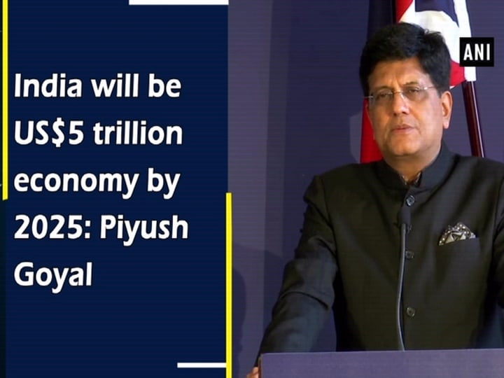 India will be US$5 trillion economy by 2025: Piyush Goyal