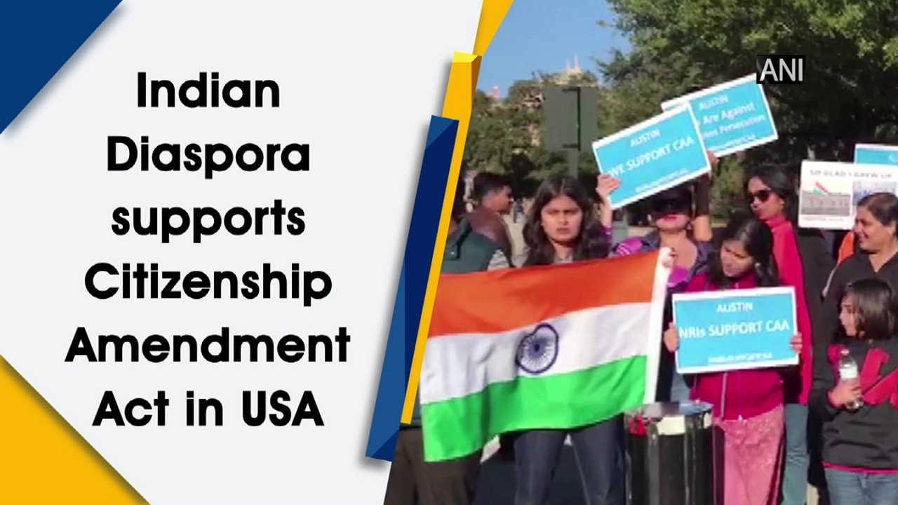 Indian Diaspora supports Citizenship Amendment Act in USA