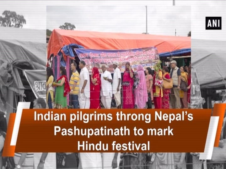 Indian pilgrims throng Nepal's Pashupatinath to mark Hindu festival