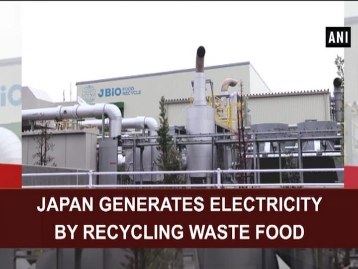 Japan generates electricity by recycling waste food