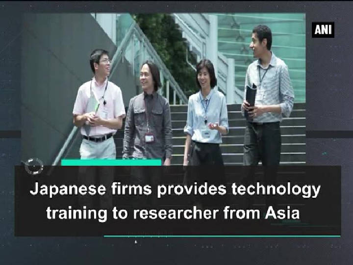 Japanese firms provides technology training to researcher from Asia