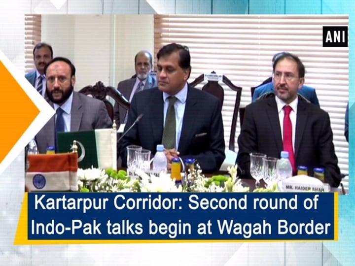 Kartarpur Corridor: Second round of Indo-Pak talks begin at Wagah Border