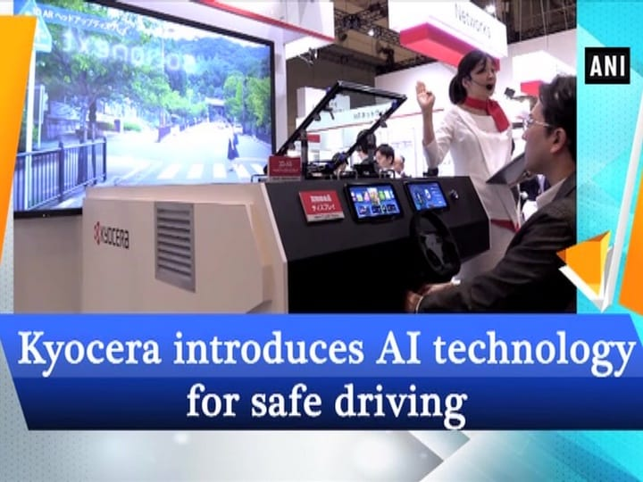 Kyocera introduces AI technology for safe driving