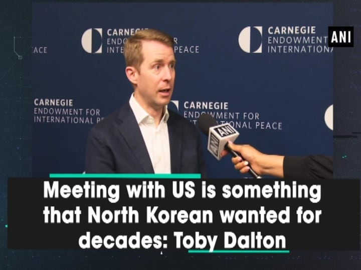 Meeting with US is something that North Korean wanted for decades: Toby Dalton