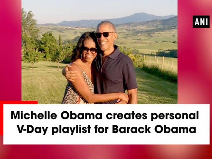 Michelle Obama creates personal V-Day playlist for Barack Obama