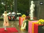 Modi pays homage at Indian peace keeping force memorial in Colombo