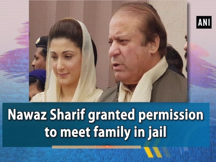 Nawaz Sharif granted permission to meet family in jail