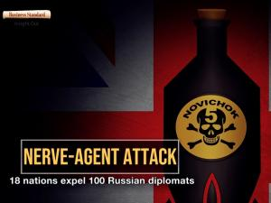 Nerve-agent attack: 18 nations expel 100 Russian diplomats