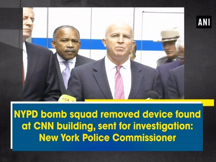 NYPD bomb squad removed device found at CNN building, sent for investigation: New York Police Commissioner