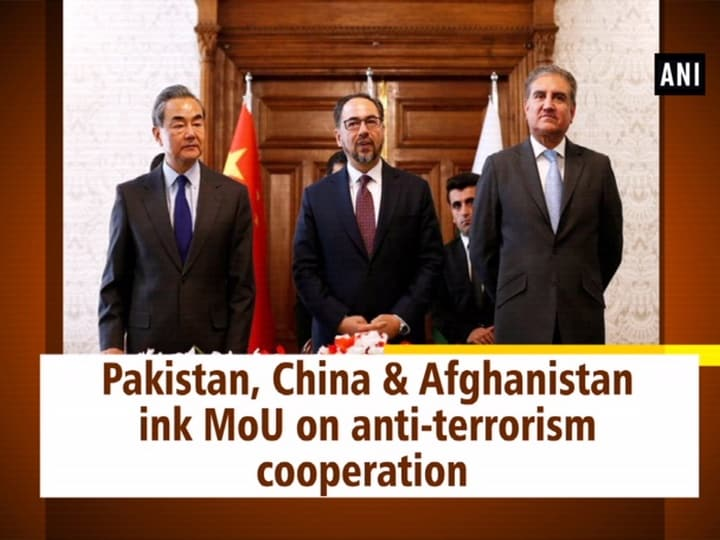 Pakistan, China and Afghanistan ink MoU on anti-terrorism cooperation