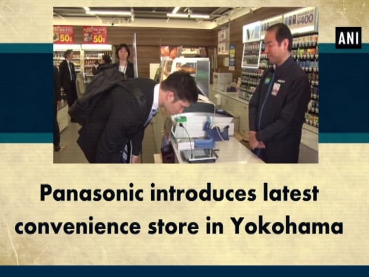 Panasonic introduces latest convenience store in Yokohama