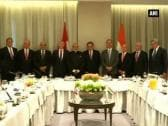 PM Modi attends roundtable meeting with major pension fund managers of Canada