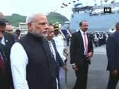 PM Modi commissions 'Barracuda' in Mauritius