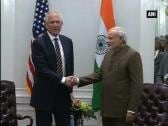 PM Modi meets Boeing CEO James McNerney