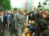 PM Modi takes tour of picturesque Cheonggyecheon Stream in Seoul