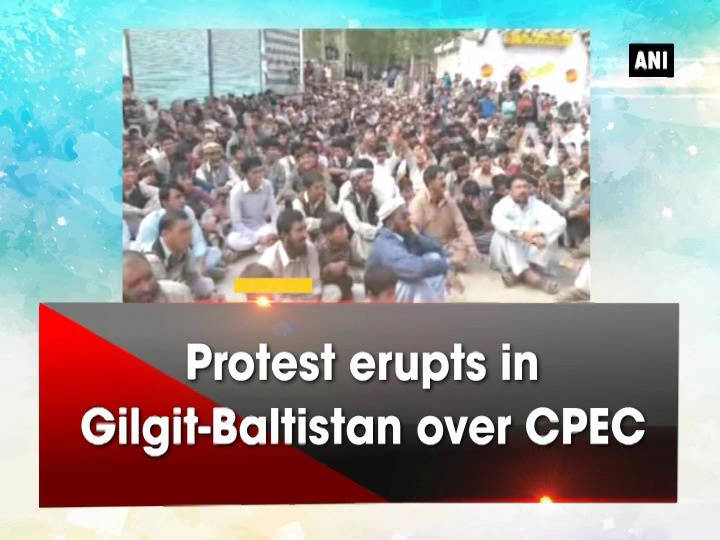 Protest erupts in Gilgit-Baltistan over CPEC